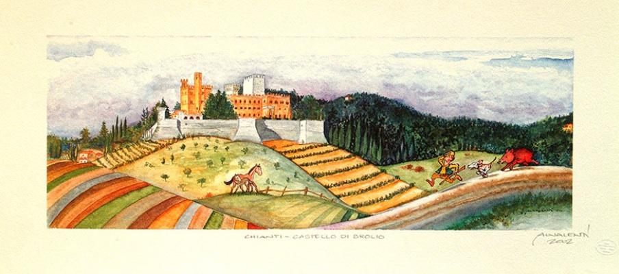 CASTELLO-DI-BROLIO-(Chianti)
