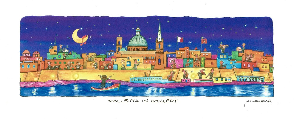 Valletta-in-concert-by-night